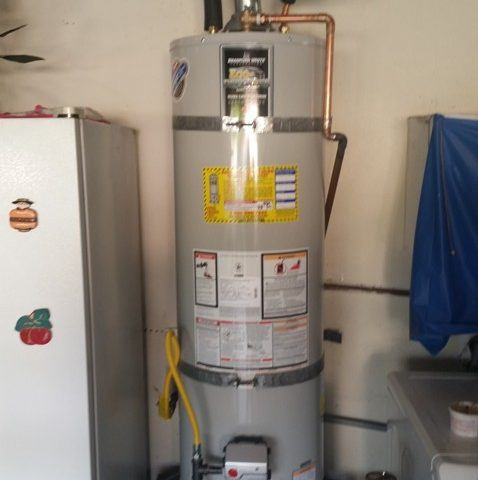 Water Heater Installation Photos